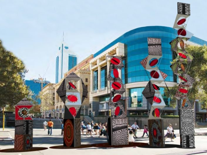 Aboriginal Wind Totems