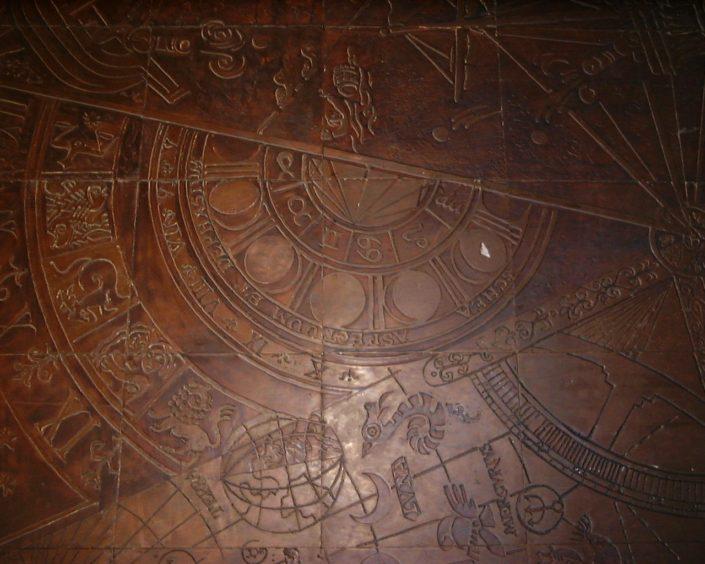 Medieval Sea Map, 1985
