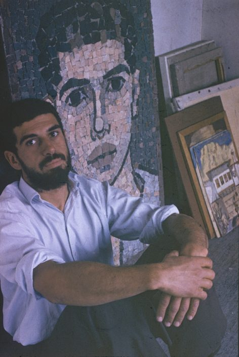 Self-Portrait Mosaic
