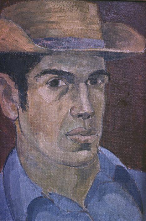 Self-Portrait Oil