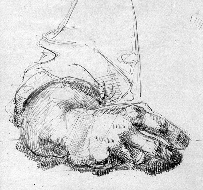 Sketch Of My Hand