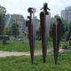 Three Totems, 1996